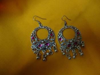 Kareena Pink Earrings