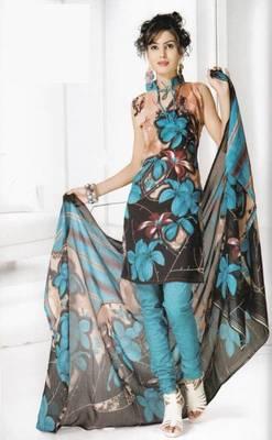 Dress Material Cotton Designer Prints Unstitched Salwar Kameez Suit D.No B10013