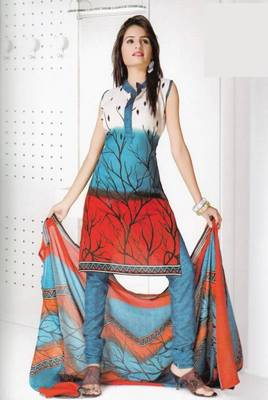 Dress Material Cotton Designer Prints Unstitched Salwar Kameez Suit D.No B10014
