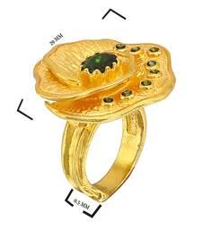 Buy 1.26 ct yellow studded jewellery gemstone rings gemstone-ring online
