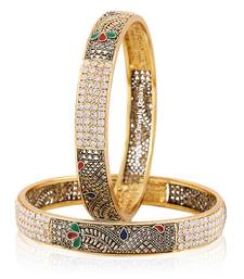 Buy Multicolor cubic zirconia bangles-and-bracelets fashion-deal online