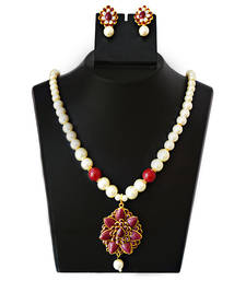 Buy Pacchi pearl necklace set necklace-set online