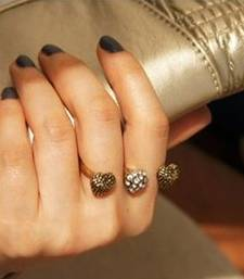 Buy Hearts Double Finger Ring(CFR0039) valentine-gift online