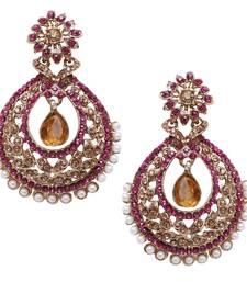 Buy Pink diamond earrings Earring online