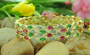 Shining colourfull Bracelet Bangles