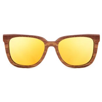 Luciano -  Gold Wooden  Sunglasses
