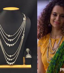 Buy Silver silver_plated necklace-sets necklace-set online