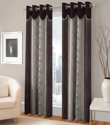 Buy Door Eyelet Coffee Curtain Set Of 2 curtain online