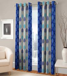 Buy Door Eyelet Blue Curtain Set Of 2 other-home-furnishing online