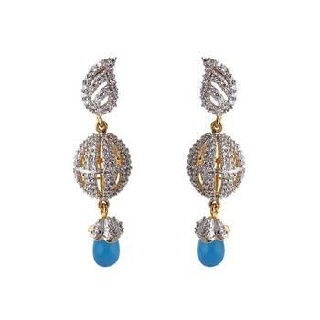 Heena Festive Pearl Collection Jhumki Earings >> HJER14BL <<