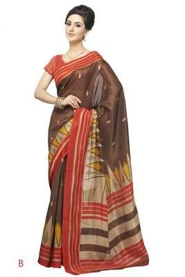 bhagalpuri style E7507B saree