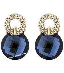 Buy Blue crystal earrings jewellery-below-500 online
