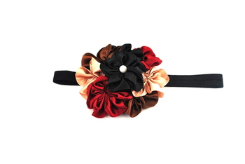 7 flower baby  hairband