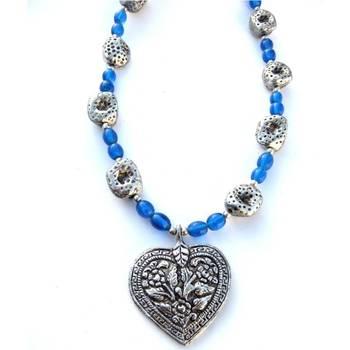 Blue heart/046