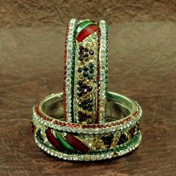 Designer Rajsthani Multi Color Lakh Bangles