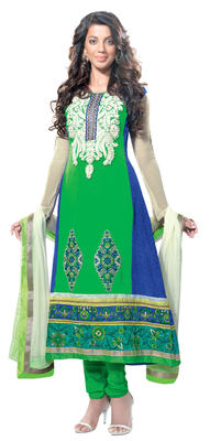 Remarkable Embroidered Georgette Salwar Kameez