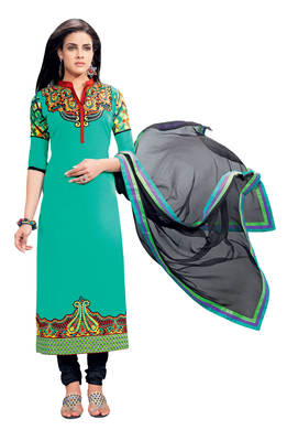 Astounding Embroidered Cotton Salwar Kameez