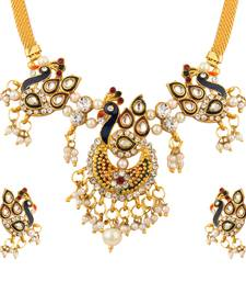 Buy Quail beautiful set of necklace necklace-set online