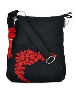 Black Small sling