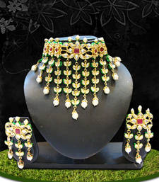 Buy Beautiful Multicolor Necklace Sets eid-jewellery online
