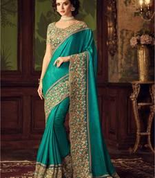 Buy Multicolor  embroidered bhagalpuri silk saree with blouse bhagalpuri-silk-saree online