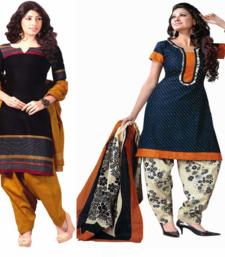Buy Multicolor printed cotton salwar with dupatta salwar-combo online