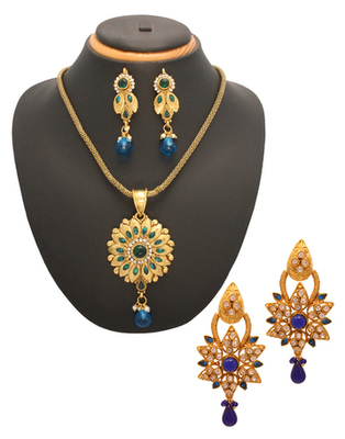 Indian wedding fashion combo jewelry