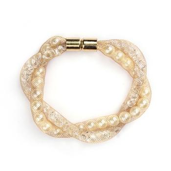 Gold Color Fashion-forward Bracelet