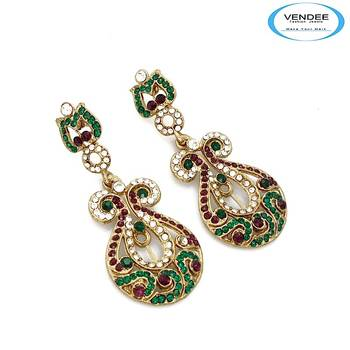 Vendee-Indian Traditional Earring for women's (4833A)