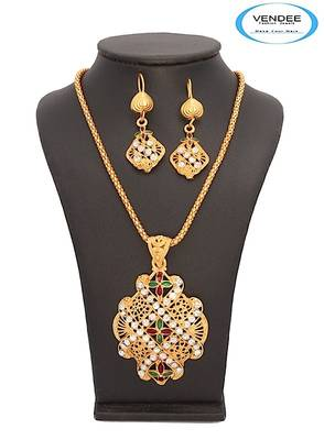 Vendee-Fashion Creative Enamel Pendant Jewelry (7048)