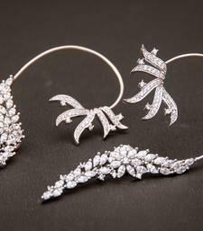 Buy Elegant fine cz earcuff ear-cuff online