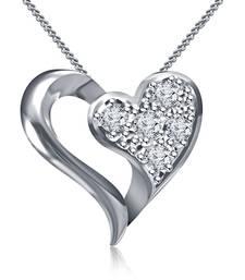 Buy 925 Sterling Silver Pendant For Women( Silver) Pendant online