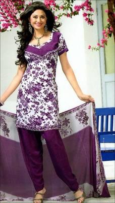 Designer printed synthetic dress material-AVG130677DM