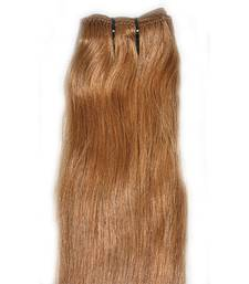 Buy hair extensions online from designers across india buy 14 machine weft remy bleached stitched human hair 12 inches hair extension online pmusecretfo Gallery