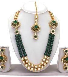 1d9d297cdc7a5 Green Jewellery – Buy Green Colour Jewellery Sets Online For Women ...