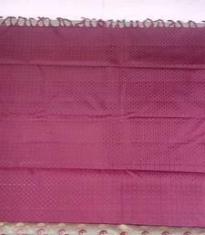 Buy beige hand woven pure kanchipuram silk saree with blouse kanchipuram-silk-saree online