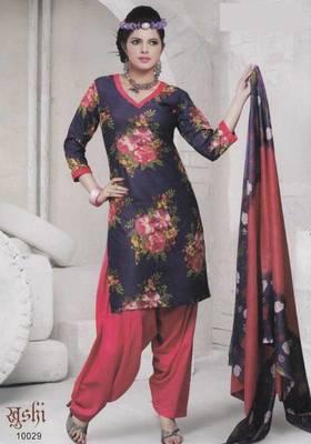 Dress material cotton designer prints unstitched salwar kameez suit d.no 10029 Prints