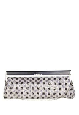 Just Women - Stunning Grey Colour Clutch