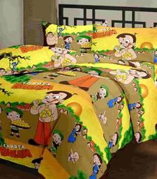 Buy eCraftIndia Chota Bheem Kids Single Bed Reversible AC Blanket home-furnishing online