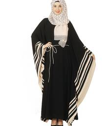 Buy Black Premium Polyester islamic kaftans islamic-kaftan online