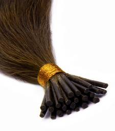 Buy Keratin Pre-bonded Stick Tips (I) Remy Bleached Human Hair 12 inches Colour no. 27 wig online