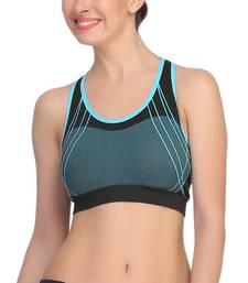 Buy Light Blue Color Sports Bra. sports-bra online