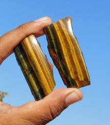 Buy 145 Cts ?Magnificent 100% Natural Yellow Tiger Eye Mix Cabochon Slab Loose loose-gemstone online