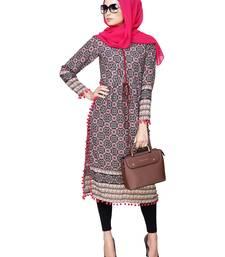 Buy Modest Forever Drawstring Tunic with Pom Pom abaya online