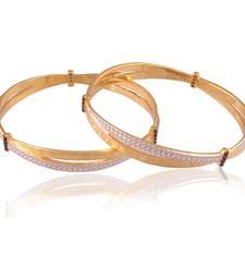 Buy Spectacular gold plated antique bangle bangles-and-bracelet online
