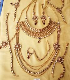 Buy Kundan bridal set for Indian Dulhan bridal-set online
