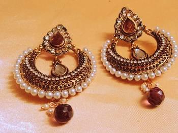 royal chaandbali danglers