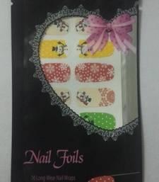Buy Shimmer 'n sparkle, new fashion metallic shining nail art sticker, french style nail art decoration nail-art online