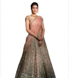 Buy Blue Silk Embroidery Bridal Lehenga choli with Dupatta bridal-lehenga online