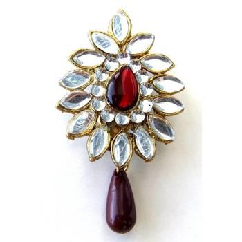 Kundan Saree pin/JW-671R